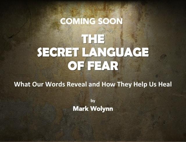The Secret Language of Fear by Mark Wolynn