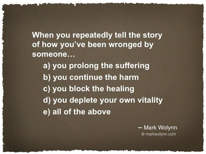 Wisdom Mark Wolynn